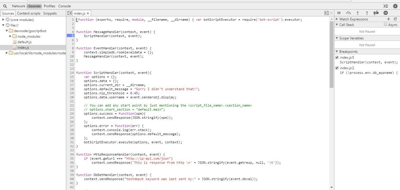 Gupshup - New IDE Helper Guide