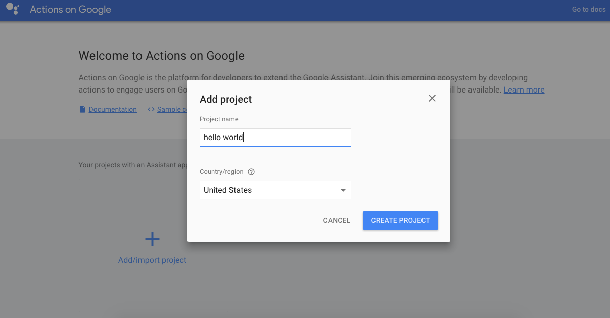 Gupshup - Google Assistant