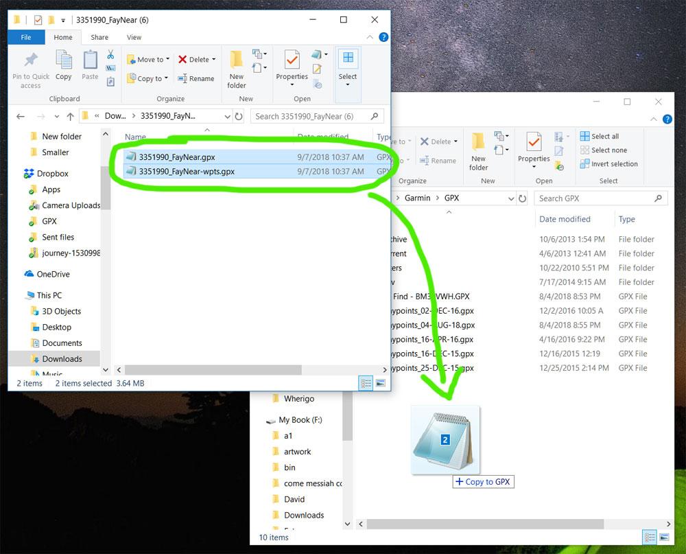 Pocket Query to a Modern Garmin GPS - Windows - How Do I
