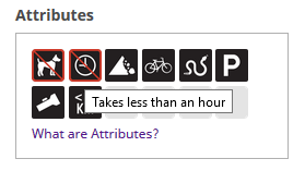 Wrong tooltip for negative attributes - Website - Geocaching Forums