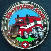 Hide*seek: TB-Rescue Geocoin Gold Exclusive Ed.
