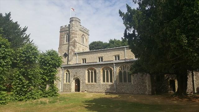 All saints Church Caddington