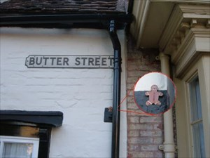In Butter Street (before setting off)