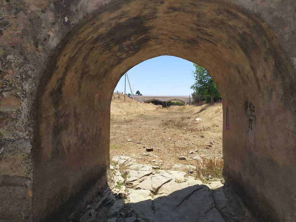 Ponte romana vista anterior