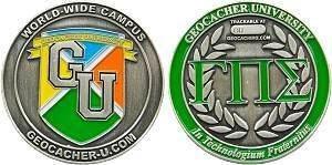 Geocacher University Geocoin