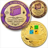 03000 Finds Geo-Achievement Geocoin
