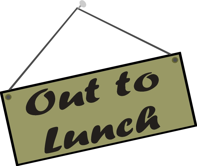 Its Lunch Time In NEI GEO Land So Were Going To Have A Break Geocaching Event