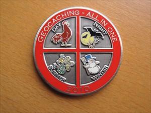 Geocaching – All In One Geocoin 2010 Geocoin