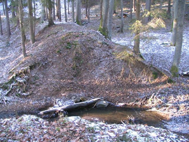 Mostek pres Hrádecký potok