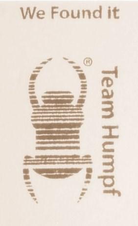 """""""Humpf"""" Pocket Stamp"""