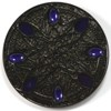 Journey Geocoin - Black Nickel with Dark Purple