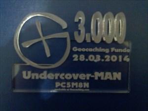 3000 x Team Undercover-MAN