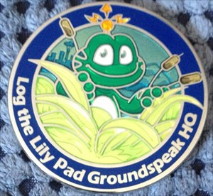 HQ Signal Coin *Log the Lily Pad*