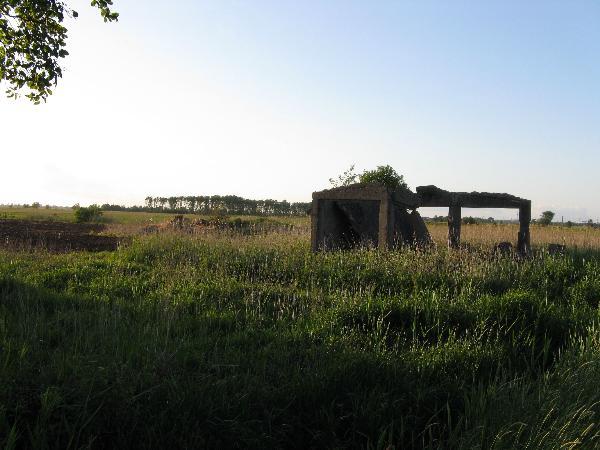 Gebäude und Fundament (Hintergrund)