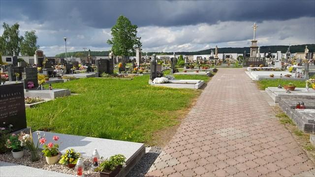 Hřbitovní klid