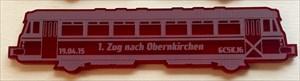 1. Zug nach Obernkirchen
