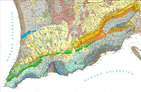 Carta Geológica de Portugal, Folha 38-B, Setúbal