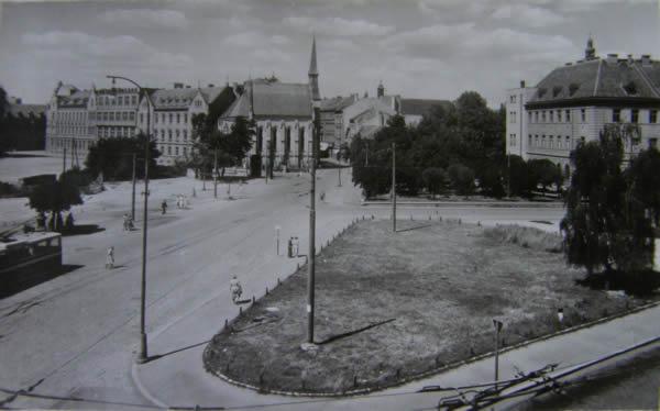 Senovážné námestí 1950