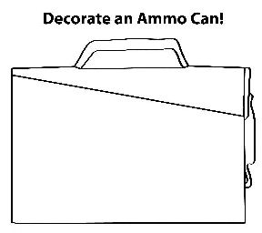 Decorate an Ammo Can