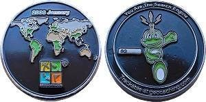 Signal Geocoin - Jan 2006