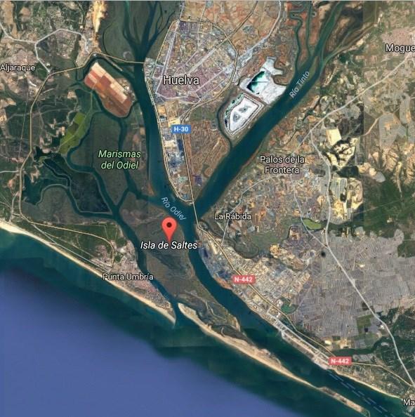 Resultado de imagen de Isla Saltés