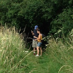 Geocaching in the Cotswolds - Summer 2013