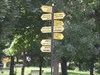 Lots of signs - all in Hungarian and German log image