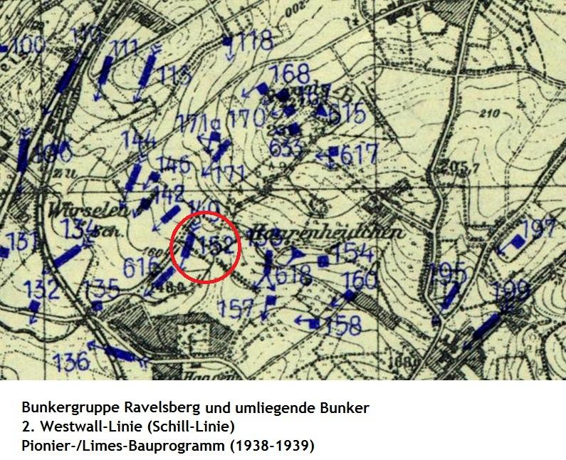 hürtgenwald bunker karte GC10XRG 2. Westwallcache