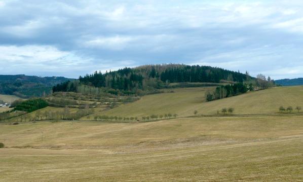 Pohled od kaple Svaté Trojice