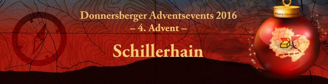 4. Advent - Event auf dem Schillerhain