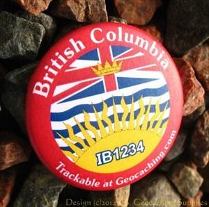 British Columbia pin