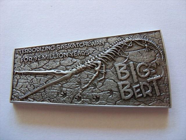 (TB6N402) Big Bert Geocoin - Big Bert Geocoin
