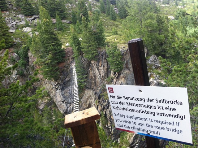 Klettersteig Zirbenwald : Gc pem klettersteig zirbenwald traditional cache in tirol