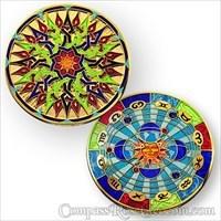 Compass Rose Geocoin 2011 - Dawn to Dusk