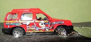 Tb33n2k Travel Bug Dog Tag Nissan Xterra