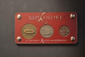GeoXantike Aureus Geocoin