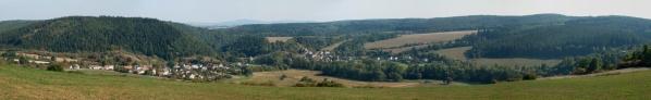 Podzimní panorama sLazy aNebřezinami