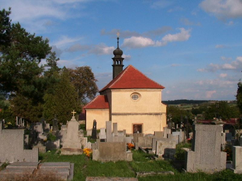 Kostel na hrbitove v Prelici