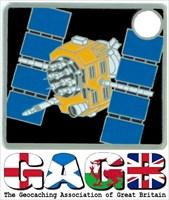 GAGB logo + Travel Satellite Geocoin