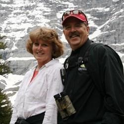 WVGrammy & I caching in Switzerland - June