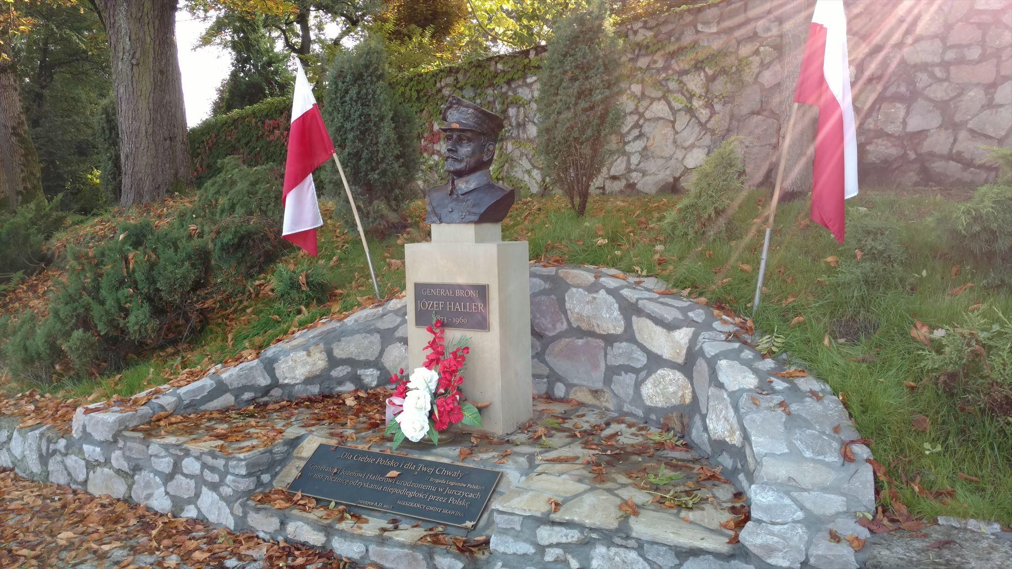 Pomnik gen. Józefa Hallera odsłonięty w 2018r.