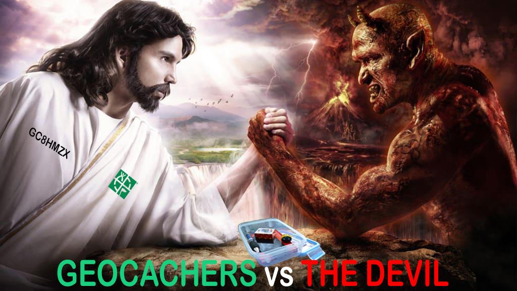 Geocacher vs The Devil