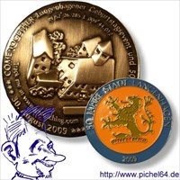 50 Hannover Event Geocoin
