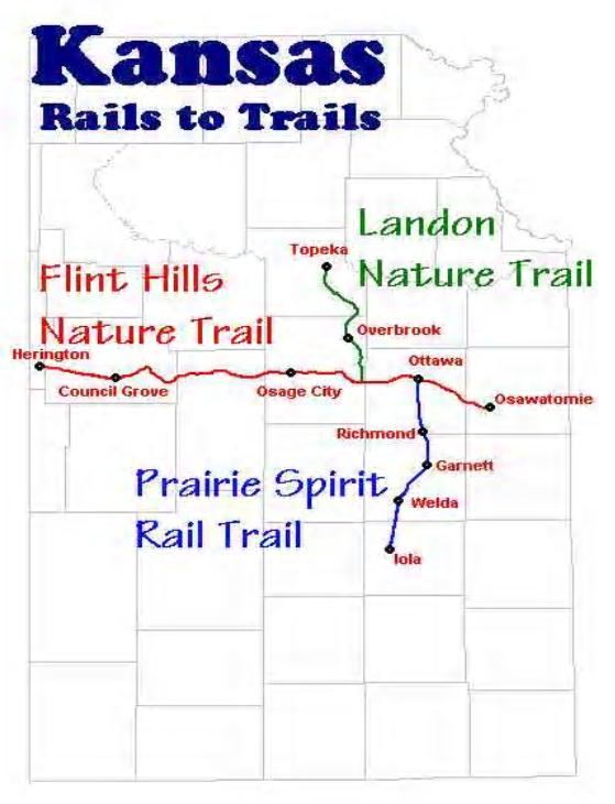 Image Link to Rails to Trails in Kansas