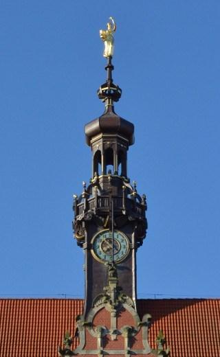 Wieża zegarowa PG / GUT Clock tower