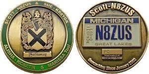 Scott-N8ZUS Geocoin