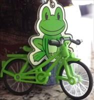 Der Frosch mit dem Fahrrad