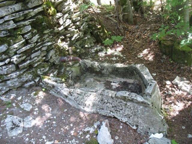 Intérieur du cabanon