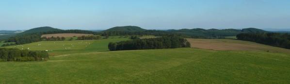 Racovský vrch a další kopce Sedmihoří