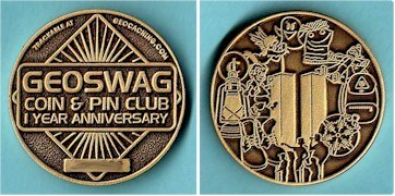 Geoswag Coin & Club Geocoin